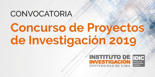 Concurso de Proyectos de Innovación 2019